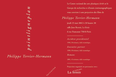 Soirée Philippe Terrier-Hermann 23 mai 2002. La fémis