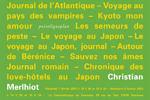 Programmes Christian Merlhiot Les 7 et 9 février 2013. Cinémathèque de Toulouse