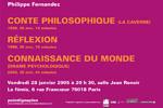 Soirée Philippe Fernandez Jeudi 27 janvier 2005. La fémis, Paris