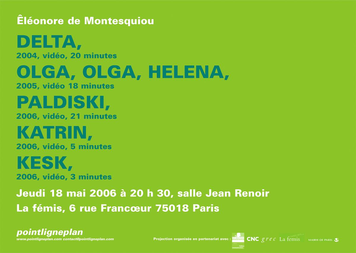 Soirée Éléonore de Montesquiou Jeudi 18 mai 2006