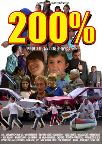 200% - Affiche - Nicolas Boone et Olivier Bosson