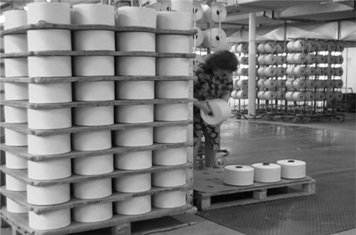 Ouvrières que j'ai filmées lors des derniers mois de fonctionnement de l'usine en 2010-2011